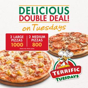 terrific tuesday pizza